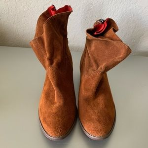 DV by Dolce Vita suede ankle booties, size 7.5